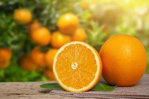 Tratamiento para el cabello orange